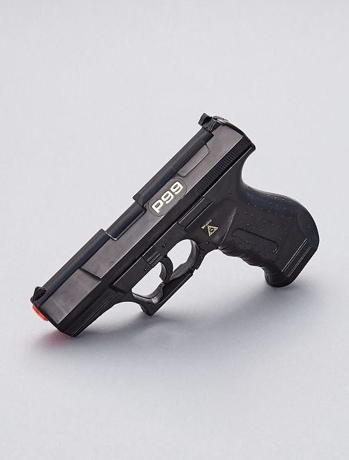 Pistola de agente especial                             NEGRO
