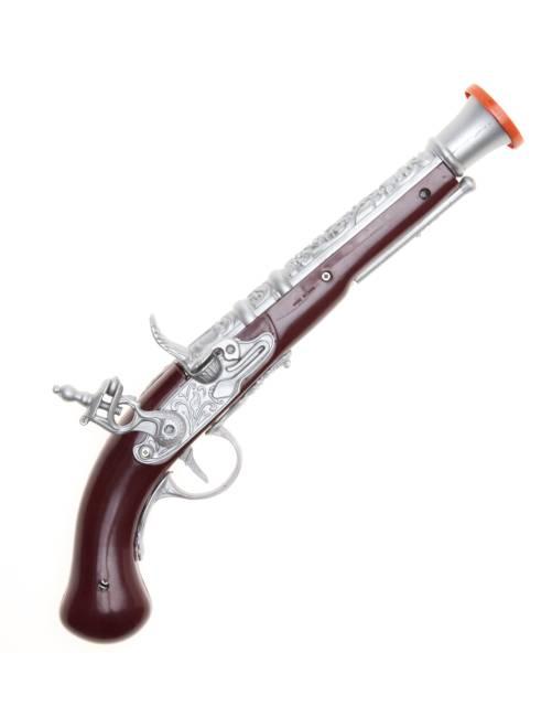 Pistola de pirata                             marrón/gris