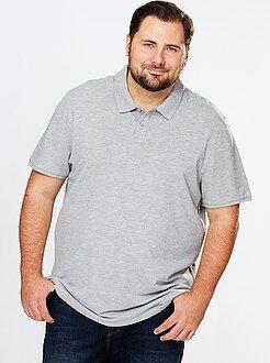 Tallas grandes hombre Polo confort de piqué de algodón