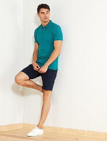 Hombre talla S-XXL - Polo liso regular - Kiabi