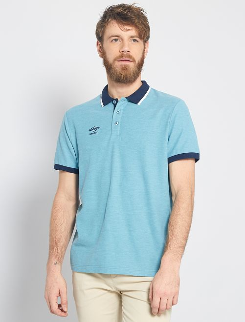 Polo 'Umbro'                                                     AZUL