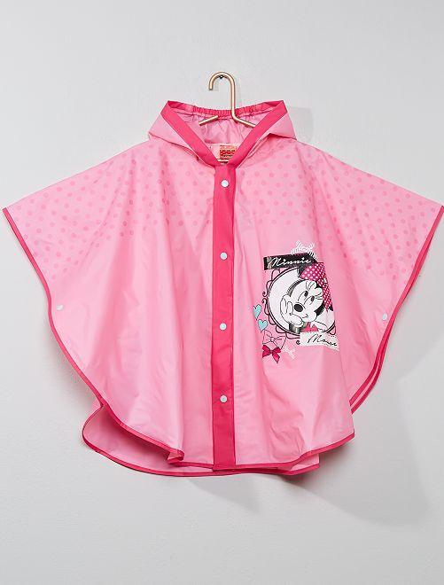 Poncho chubasquero 'Minnie'                             rosa Chica