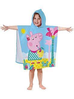 Bañadores, playa - Poncho de baño con capucha 'Peppa Pig' - Kiabi