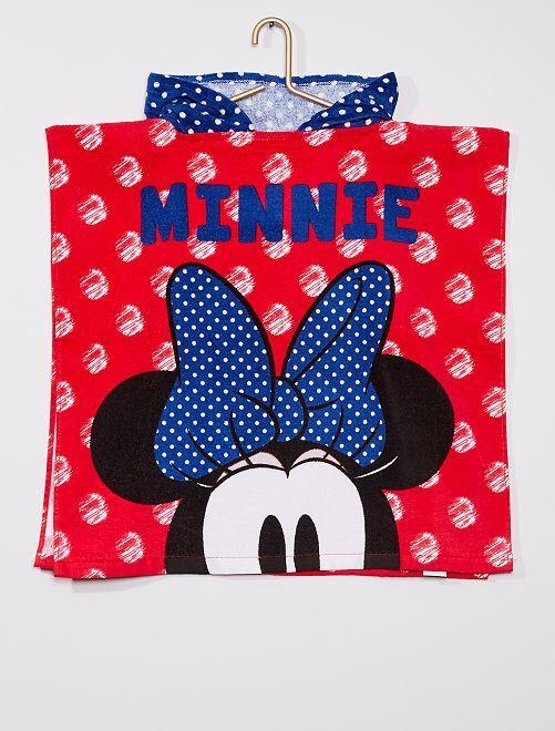 Poncho de baño 'Minnie Mouse' de 'Disney'                                         rojo