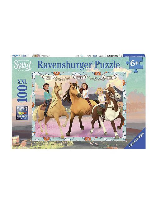 Puzzle 100 piezas 'Spirit: cabalgando libre'                             multicolor Chica