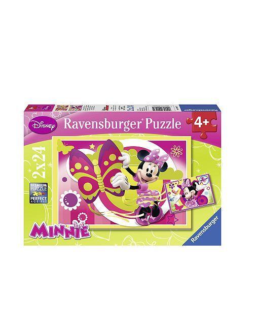 Puzzle 'Minnie Mouse' de 'Disney' de 'Ravensburger'                             fucsia