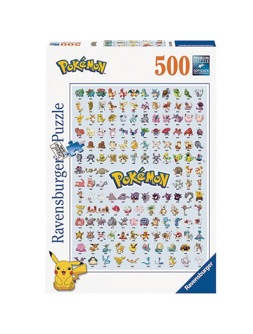 Puzzle 'Pokemon' de Ravensburger                             multicolor