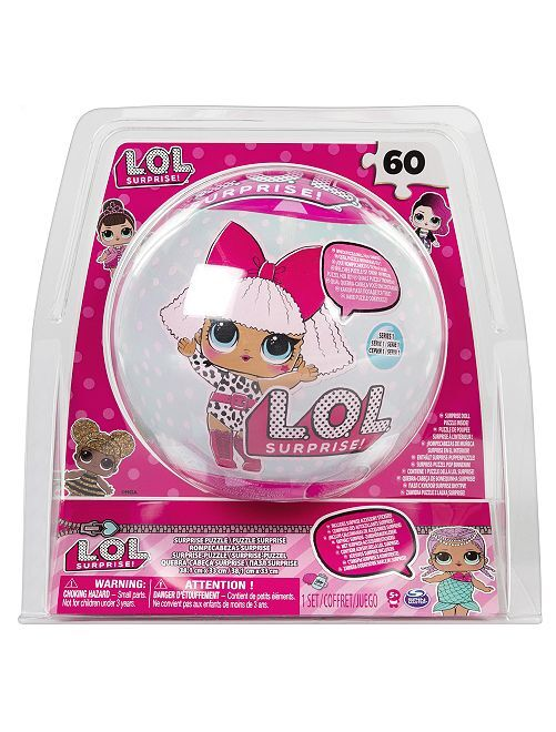 Puzzle sorpresa 'L.O.L. Surprise!'                             rosa