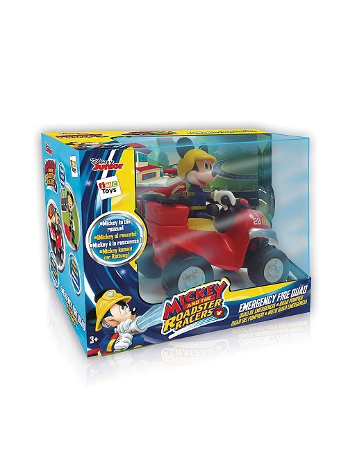 Quad de bombero 'Mickey'                             rojo