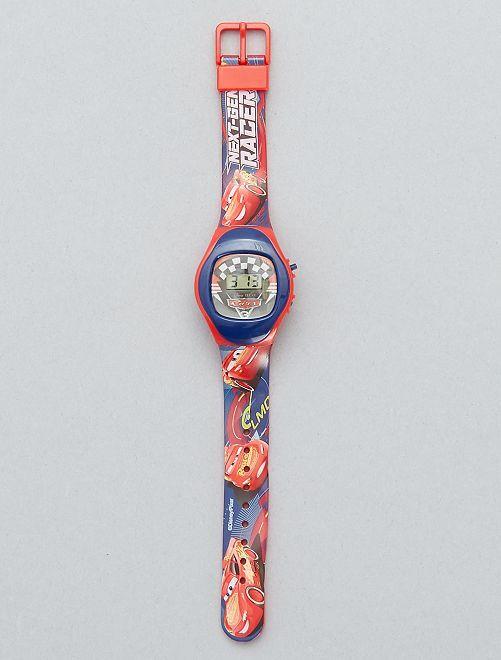 Reloj digital 'Rayo McQueen' 'Cars'                             rojo Chico