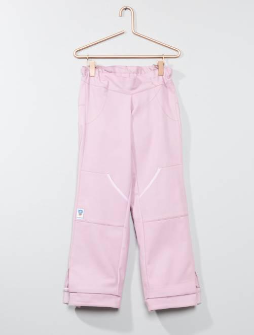 Ropa adaptada - Pantalón adaptado para silla de ruedas                                         rosa