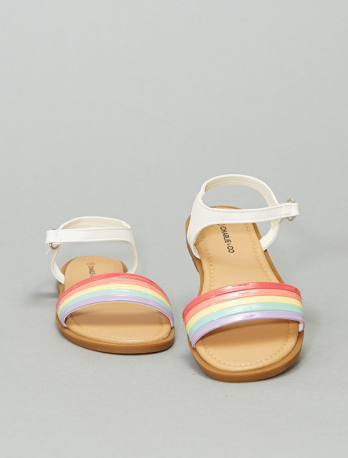 Sandalias 'arcoíris'                             BEIGE