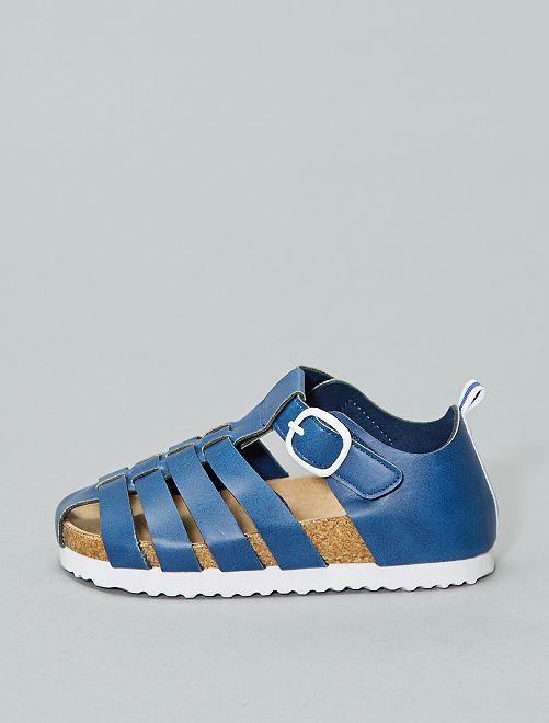 Sandalias                     azul Chico