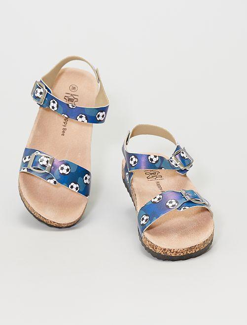 Sandalias                             azul navy