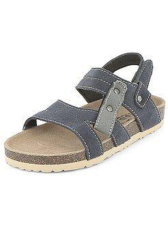 Zapatos, zapatillas - Sandalias cómodas de antelina - Kiabi