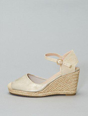 3d27170d Rebajas selección de zapatos con cuña para Mujer talla 34 a 48 | Kiabi