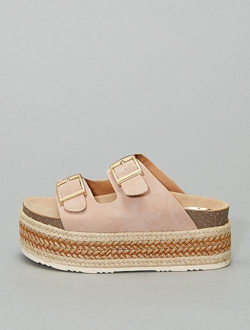 Sandalias con plataforma 'Xti'                             beige