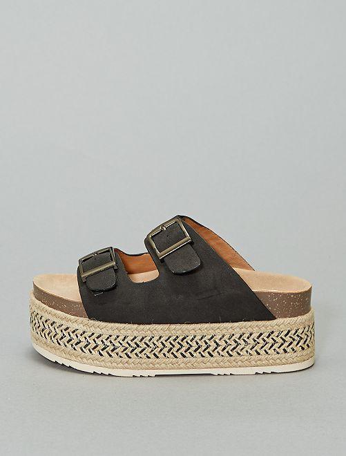 Sandalias con plataforma 'Xti'                                         negro
