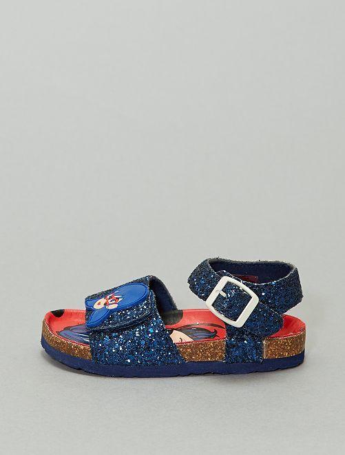 Sandalias con strass 'Miraculous'                             azul