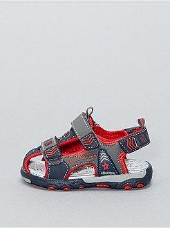 Sandalias con velcro - Kiabi