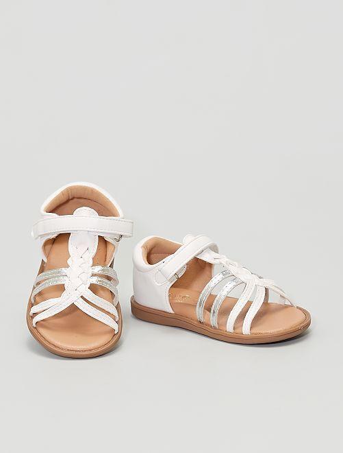 Sandalias de material sintético                                         blanco