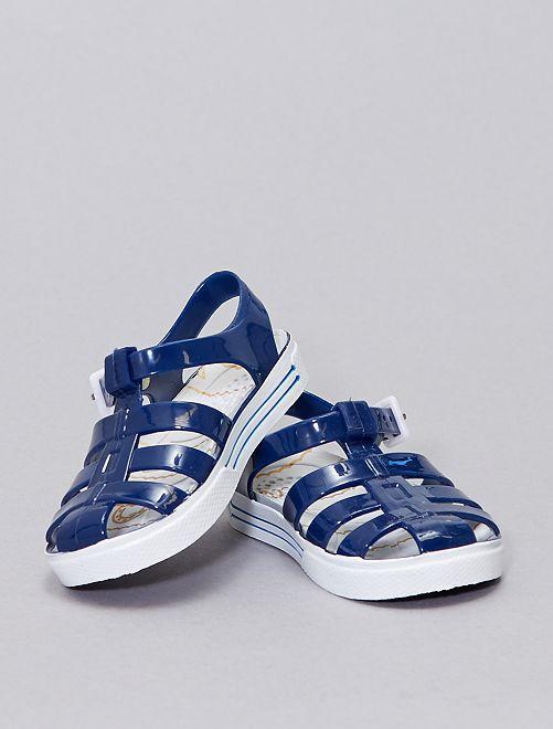 Sandalias de plástico para el agua                             azul navy