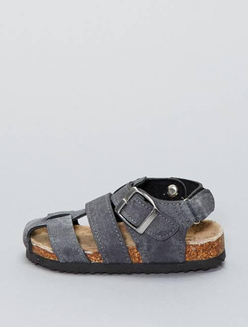 Sandalias de polipiel 'Beppi'                             AZUL Chico