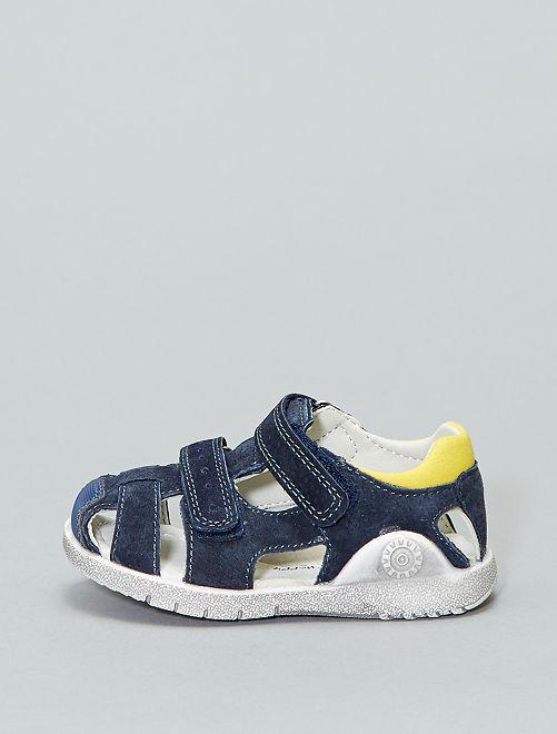 Sandalias de serraje                             marino Zapatos