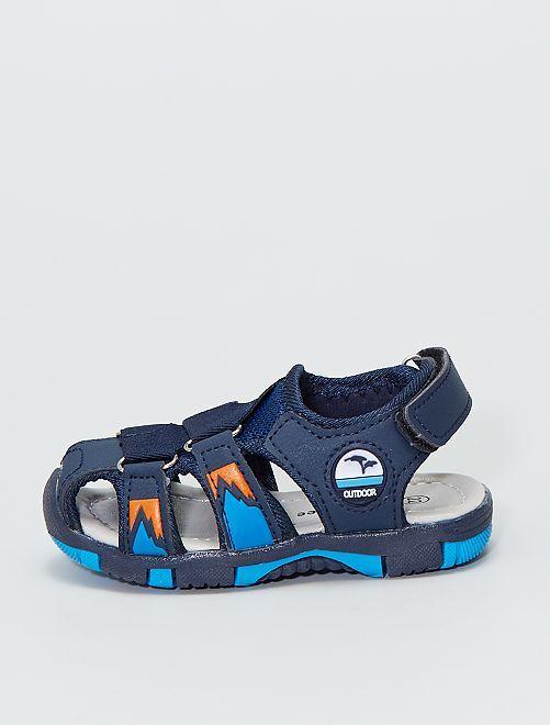 Sandalias deportivas                             azul navy