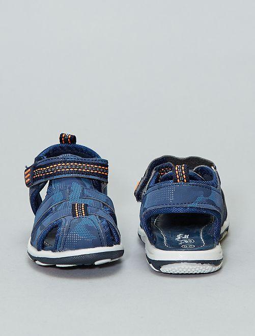 f3d3c3662c36d Sandalias deportivas con velcro Bebé niño - azul navy - Kiabi - 15