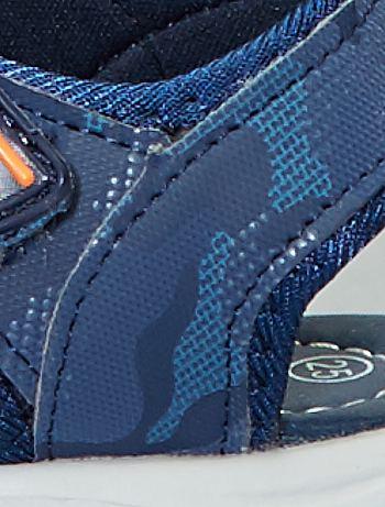 fe8d332ee2c33 ... Sandalias deportivas con velcro vista 6. Sandalias deportivas con velcro  azul navy Bebé niño