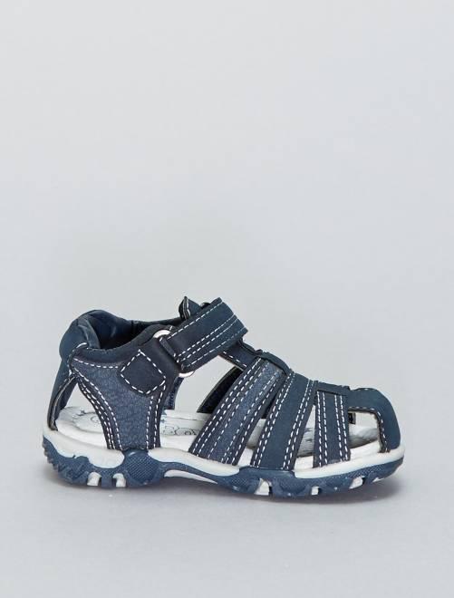 a3b84a994 Sandalias deportivas con velcros Bebé niño - azul navy - Kiabi - 20
