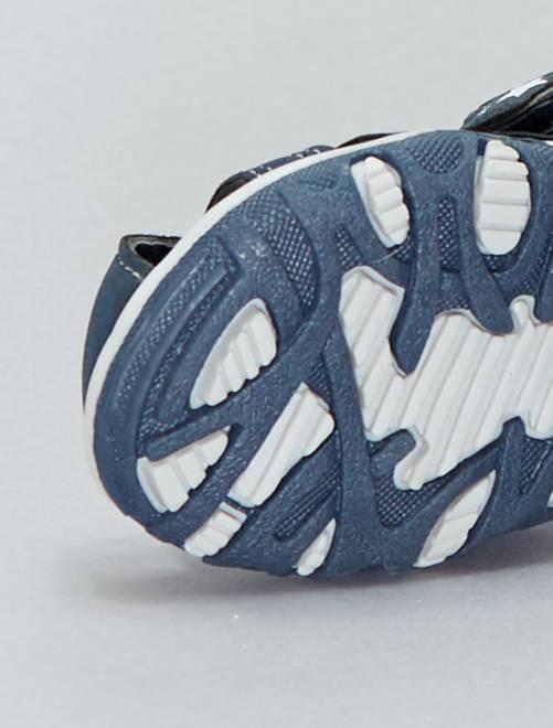 df5acc2d9 ... Sandalias deportivas con velcros vista 5 · Sandalias deportivas con  velcros vista 6. Sandalias deportivas con velcros azul navy Bebé niño