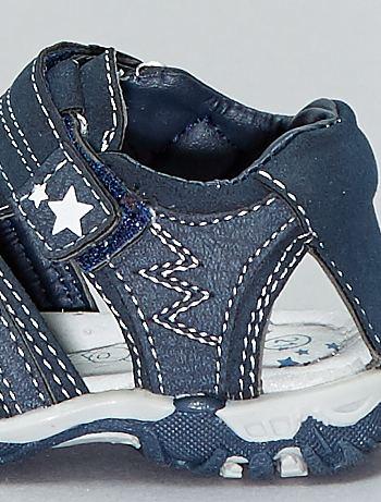 b5ba6adf8 ... Sandalias deportivas con velcros vista 6. Sandalias deportivas con  velcros azul navy Bebé niño