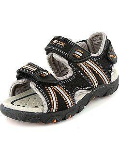 Sandalias deportivas de piel sintética - Kiabi