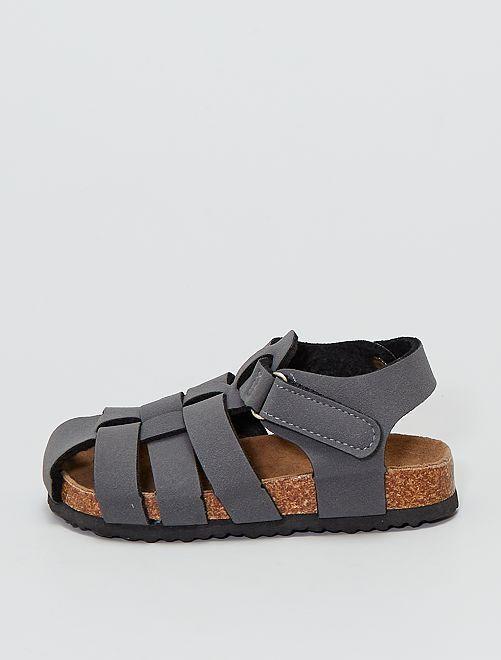 Sandalias                             gris