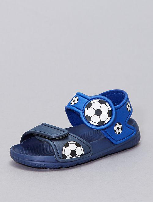 Sandalias para el agua                             AZUL