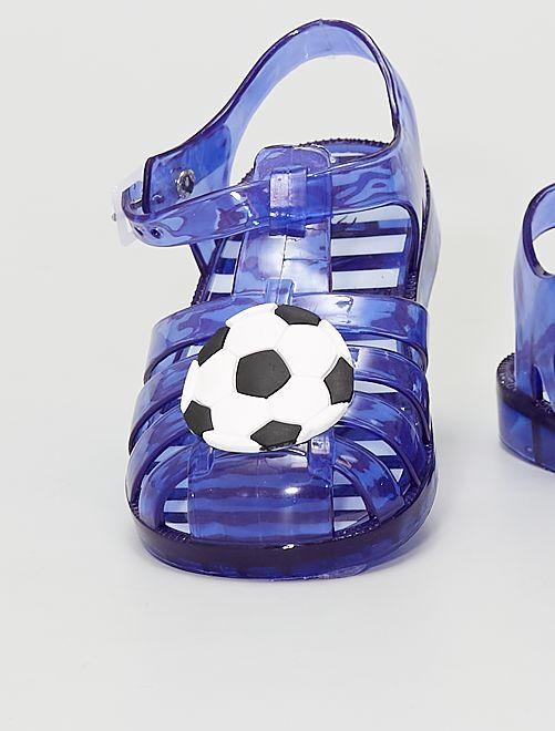 Sandalias para el agua 'balón fútbol'                             AZUL