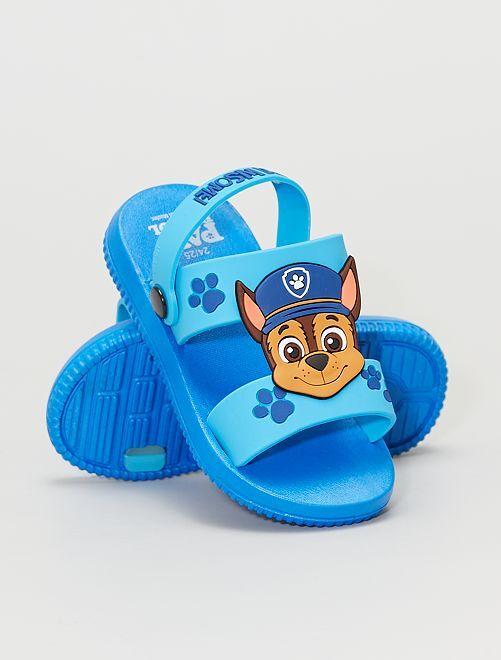 Sandalias planas 'La Patrulla Canina'                             azul