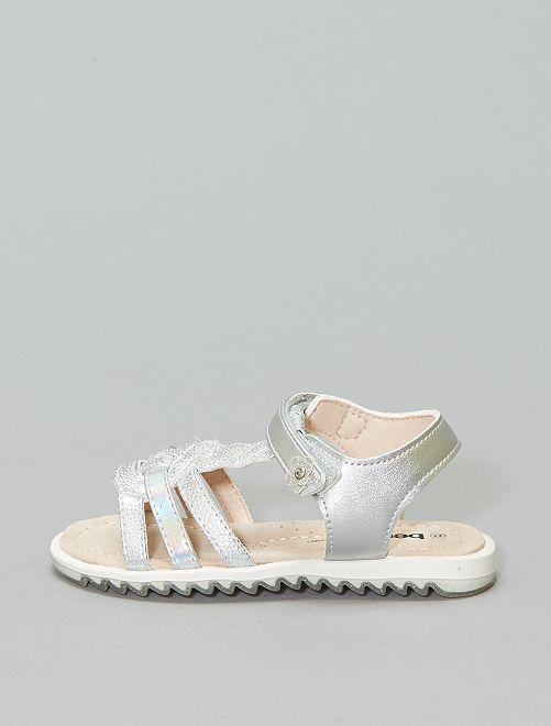 Sandalias plateadas 'Beppi'                             plata Chica