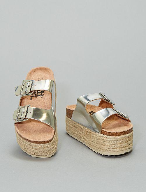 Sandalias plateadas 'Xti'                             plata