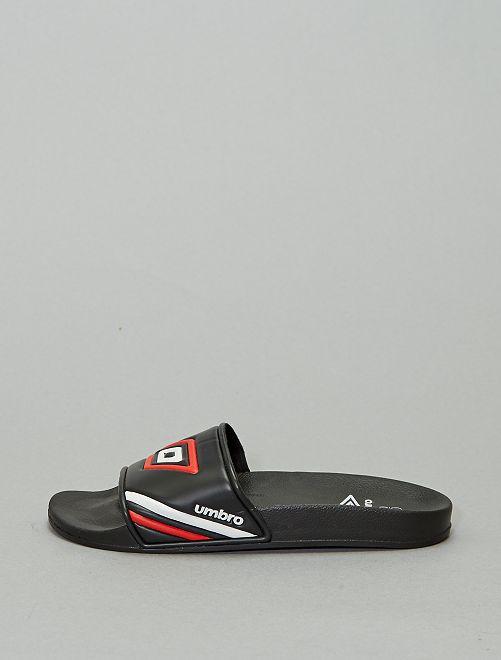 Sandalias 'Umbro'                             NEGRO