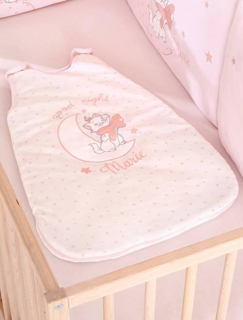 Saquito abrigado de terciopelo 'Los Aristogatos'                     blanco Bebé niña