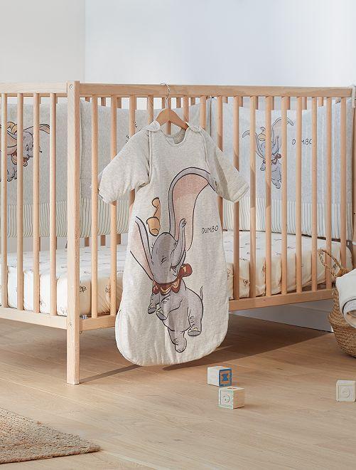 Saquito abrigado 'Dumbo' con mangas desmontables                             dumbo