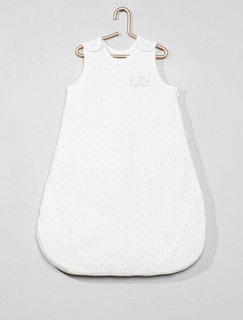 Saquito cálido de algodón orgánico puro - Kiabi