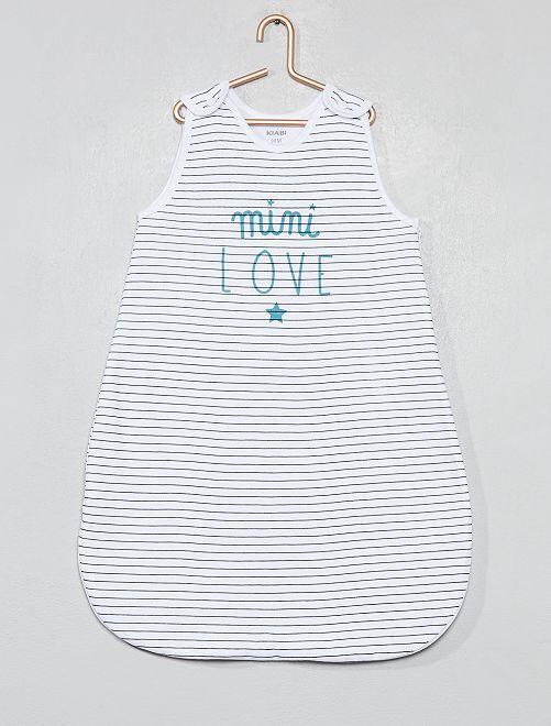 Saquito de algodón puro 'Mini Love'                                         BLANCO