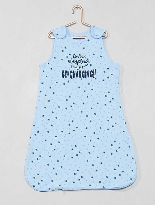 Saquito ligero para bebé 'estrellas'                                         azul Bebé niña