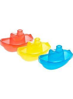 Set de 3 barcos flotantes para el baño