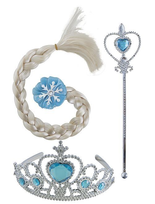 Set de reina del hielo                             azul