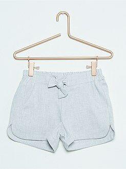 Pantalones cortos, short talla 10a - Short de algodón